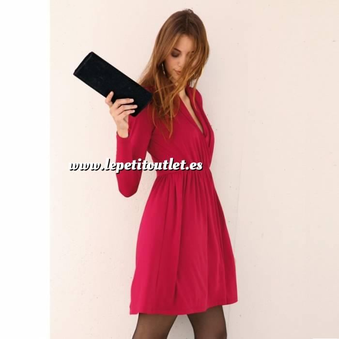 Imagen Talla 40-42 (L) Vestido de manga larga Rojo Talla L (Ref.051880) (Últimas Unidades)