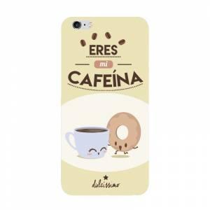 Fundas para móvil - Funda de móvil: Eres mi cafeína.