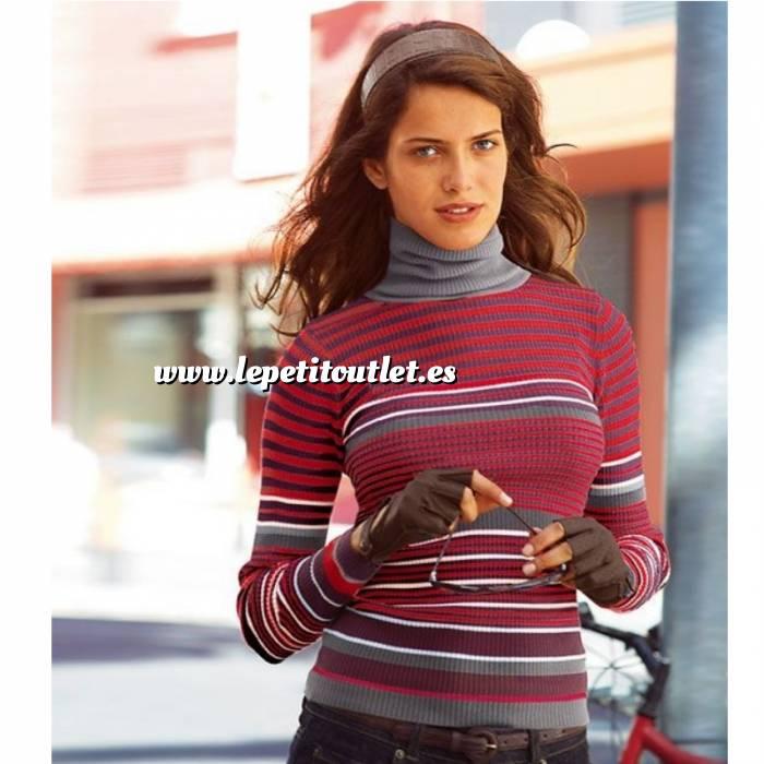 Imagen Talla 50-52 (XL) Jersey rayas Rosa, Morado y Gris Talla 50-52 (Ref.009324) (Últimas Unidades)