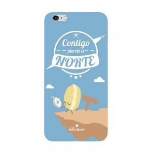 Fundas para móvil - Funda de móvil: Contigo pierdo el Norte