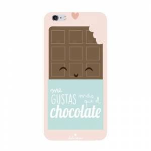 Fundas para móvil - Funda de móvil: Me gustas más que el chocolate.