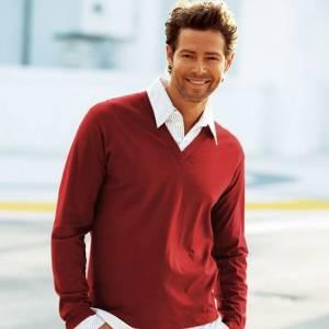Talla 42-44 (M) - Camisa más Camiseta Roja Talla 44-46 (Ref.003947) (Últimas Unidades)