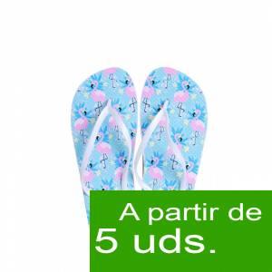 Tallas 40-42 - Chancla Playa Flamencos Colorines Talla M (Últimas Unidades)